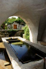 village de Chamaret- lavoir communal