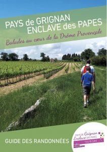 Top 8 randonnées couverture Top guide randonnées Ot Pays de Grignan Enclave des papes