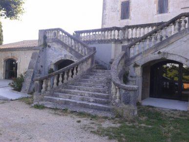 St Pantaléon les vignes escaliers Château Urdy
