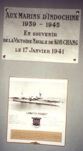 Régis Bérenger Chamaret Plaque Koh-Chang