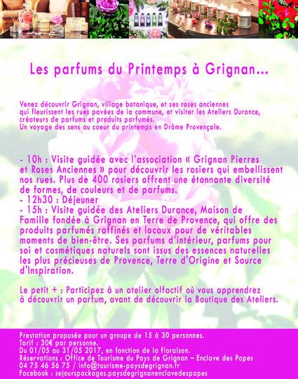Les parfums du Printemps à Grignan – Journée Groupes à Grignan - 1