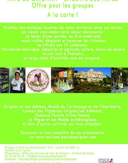 Pays de Grignan – Enclave des Papes à la carte (Journée groupe) à Grignan - 2