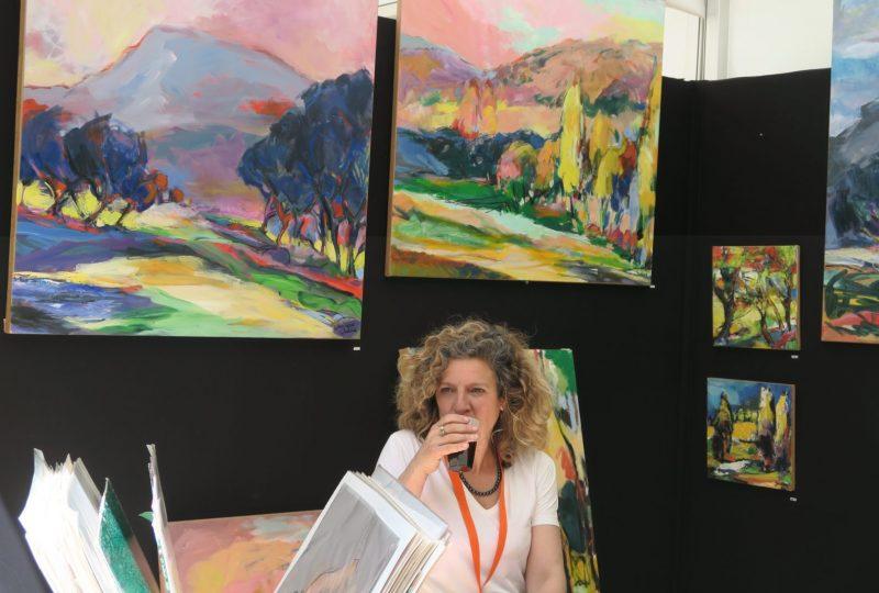 Atelier de peinture La ferme des Dames à Salettes - 2