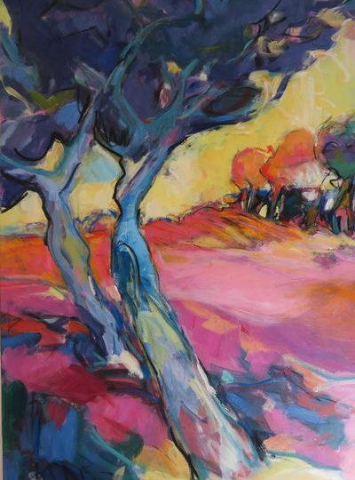 Atelier de peinture La ferme des Dames à Salettes - 5