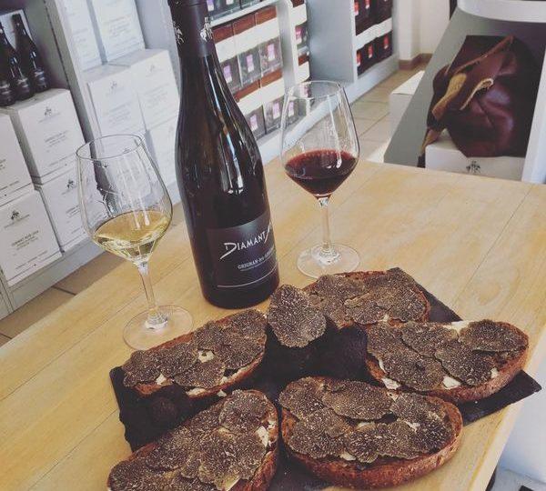 Lorsque la truffe et le vin se rencontrent à Richerenches - 0