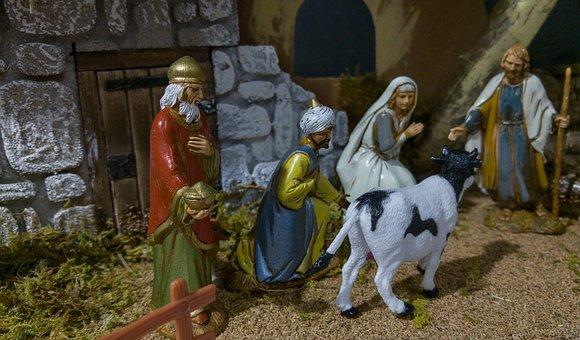 Crèche de Noël à Salles-sous-Bois - 0