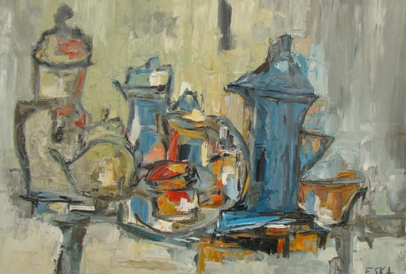 ESKA Atelier Galerie Peinture à Grignan - 2