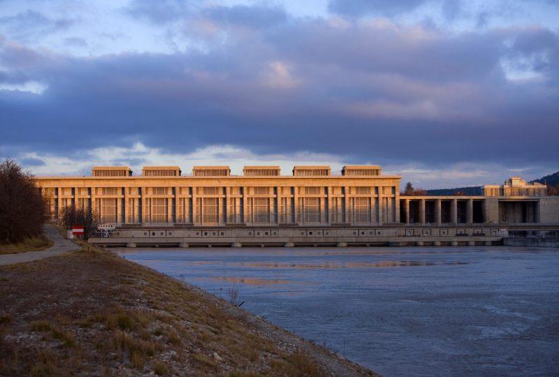 Centrale hydroélectrique André Blondel CNR à Bollène - 7