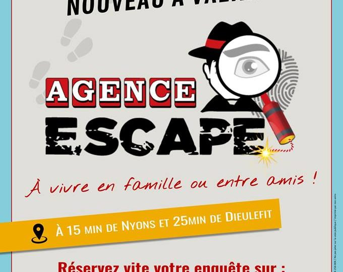 Agence E.SCAPE – Escape Game à Valréas - 0