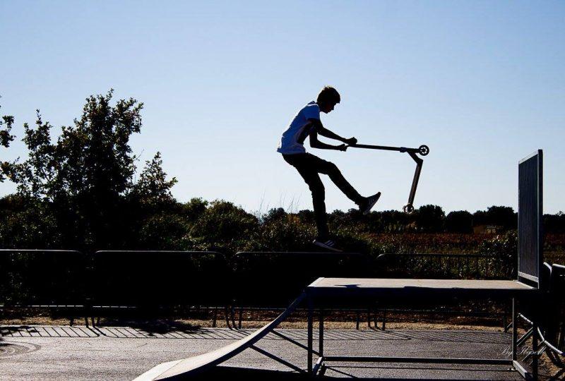 Skate Park à Grillon - 2