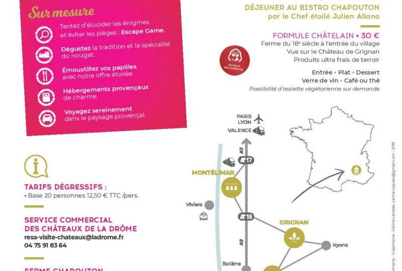 Journée Châtelain en Provence à Grignan - 1