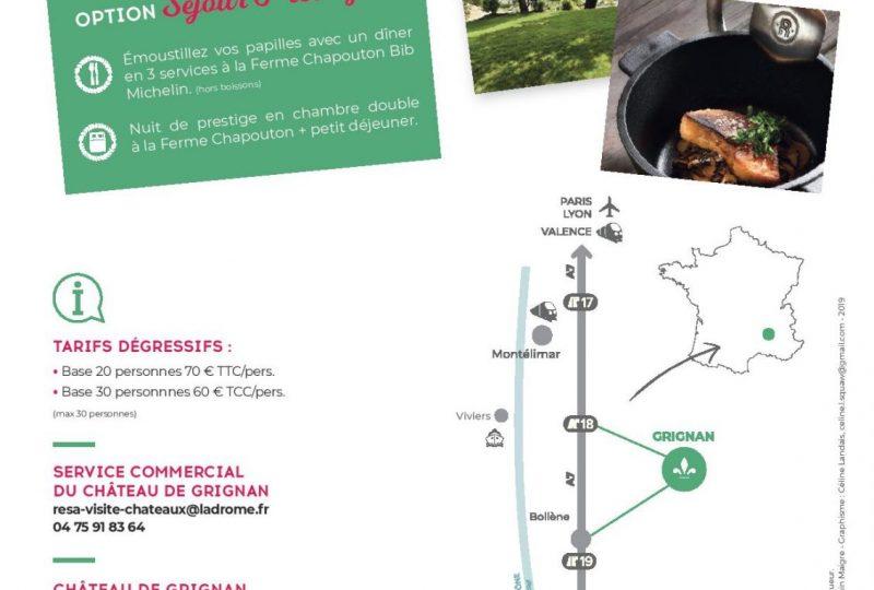 Journée Délice – Château de Grignan à Grignan - 1