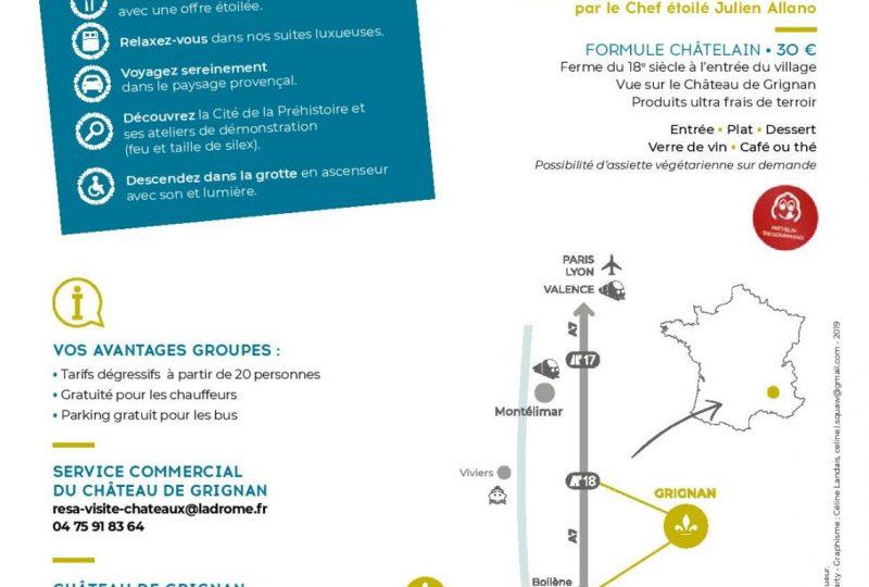 Journée Exploration : Château de Grignan et l'Aven d'Orgnac à Grignan - 1
