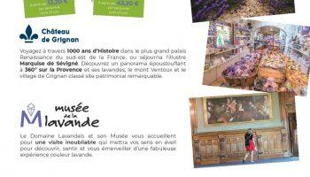 Journée Exploration : Château de Grignan et Musée de la Lavande