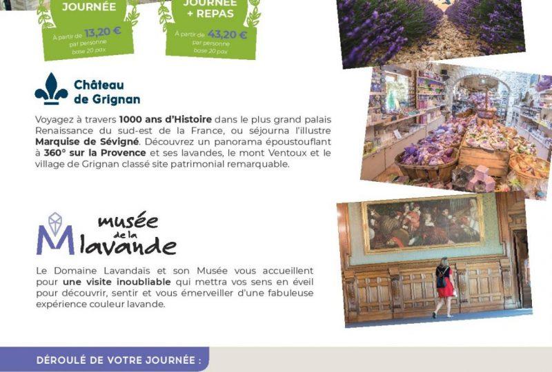 Journée Exploration : Château de Grignan et Musée de la Lavande à Grignan - 0