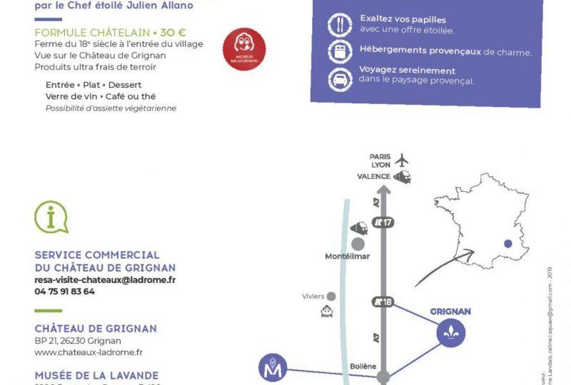Journée Exploration : Château de Grignan et Musée de la Lavande à Grignan - 1