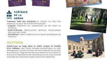 Journée Zen – Château de Grignan