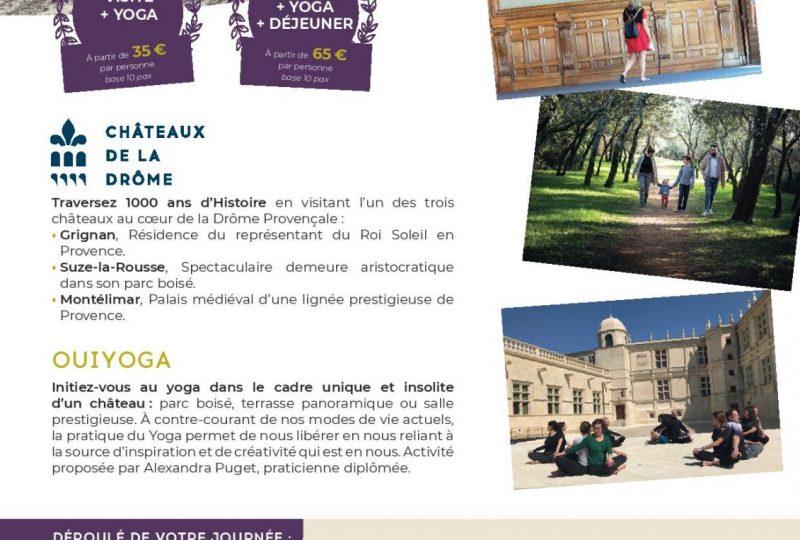 Journée Zen – Château de Grignan à Grignan - 0