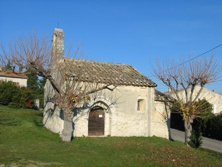 Chapelle Notre Dame des Barquets à Montségur-sur-Lauzon - 0