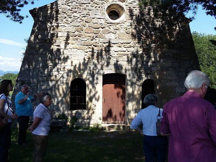 Chapelle Saint Barthélémy à Chamaret - 1