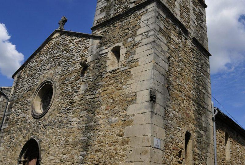 Eglise Saint Barthélémy à Chamaret - 0