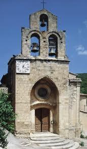 Eglise Saint Mayeul à Rousset-les-Vignes - 1