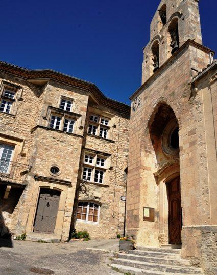 Eglise Saint Mayeul à Rousset-les-Vignes - 2