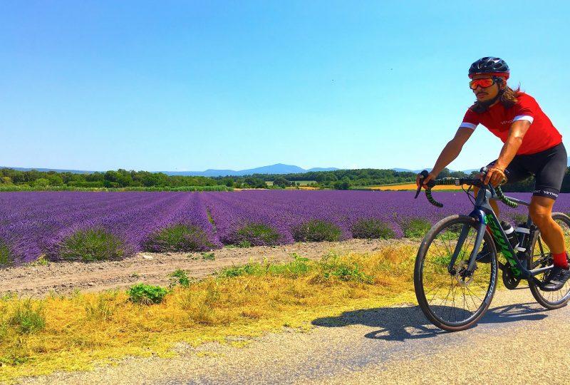 Voyage à vélo Drôme provençale à Grignan - 1