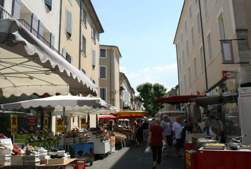 Grand marché provençal de Vaison-la-Romaine – Tous les mardis à Vaison-la-Romaine - 0