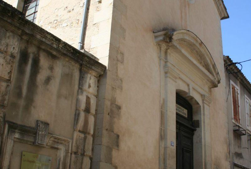 Chapelle des Pénitents Noirs à Valréas - 1