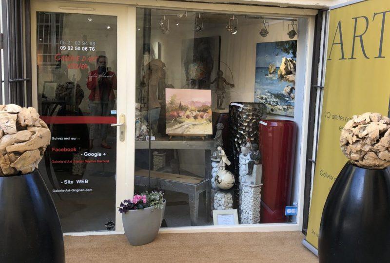 Galerie d'Art – Atelier Sophie Herrent à Grignan - 20