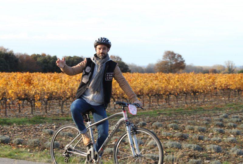 28 – Tour de l'Enclave à vélo à Valréas - 1