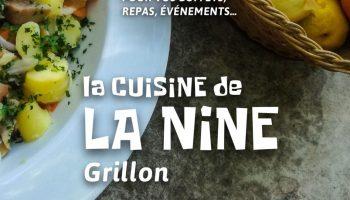 La cuisine de la Nine – Grillon