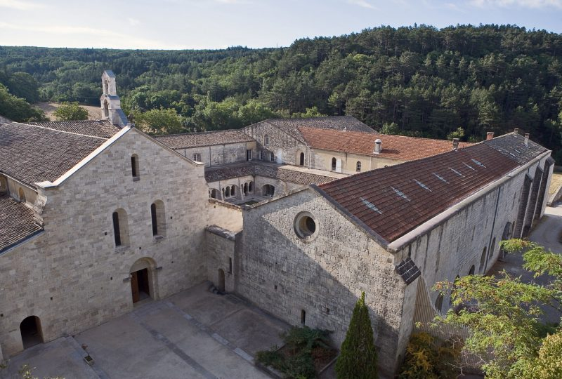 Abbaye Notre-Dame d'Aiguebelle à Montjoyer - 0